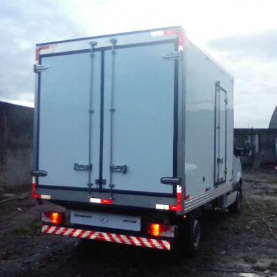 Baú Câmara Fria para Truck