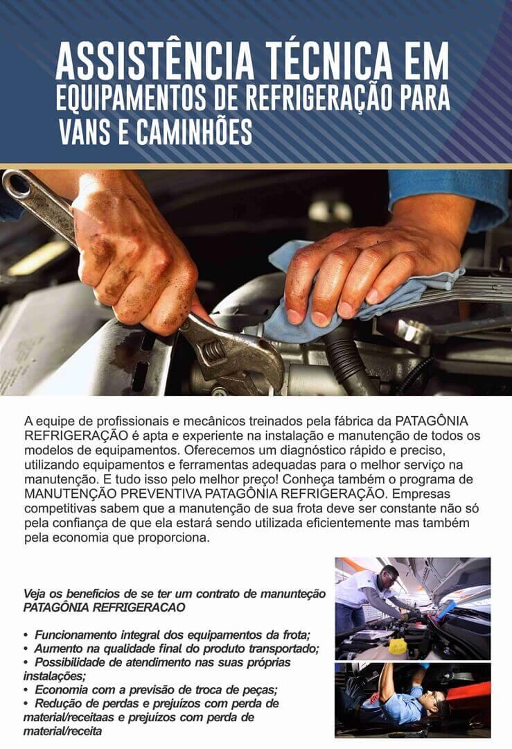 Assistência Técnica em Equipamentos de Refrigeração para Vans e Caminhões