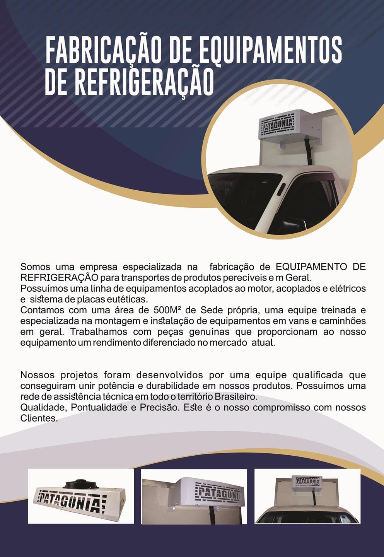 Fabricação de equipamentos de refrigeração